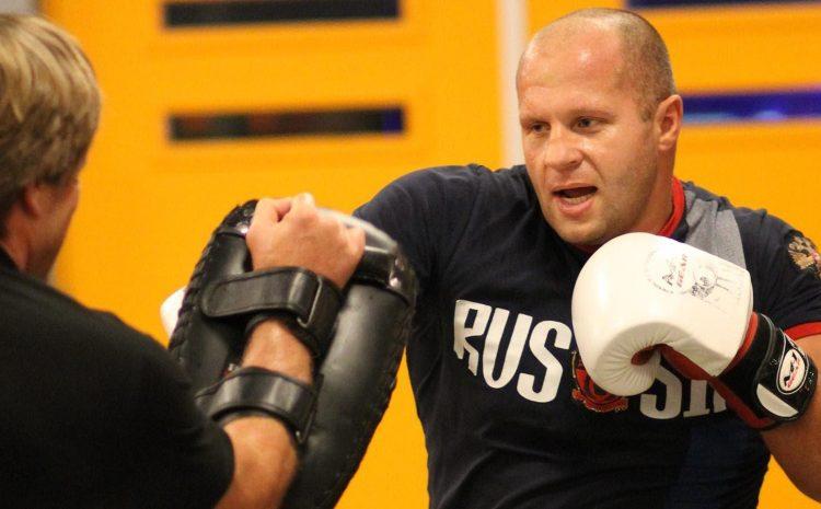O UFC publicou um vídeo da batalha de Fedor Emelianenko